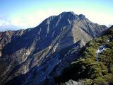 阿弥陀岳から赤岳を望む