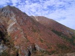 朝日岳東南稜