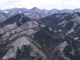 御前岩から眺めた道志主脈の山々