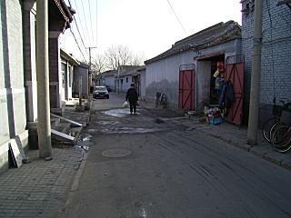 胡同の街並み